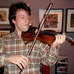 Peter Sirotin (Patomic, MD), Assoc. Concertmaster of the Hbg. Symphony and principle violin with the Mendelssohn Piano Trio was in for a new sound post and sound adjustments. Also, to try out my hand-made Hershey violins that he very much enjoyed. For lesson and booking information: peter@mendelssohnpianotrio.com
